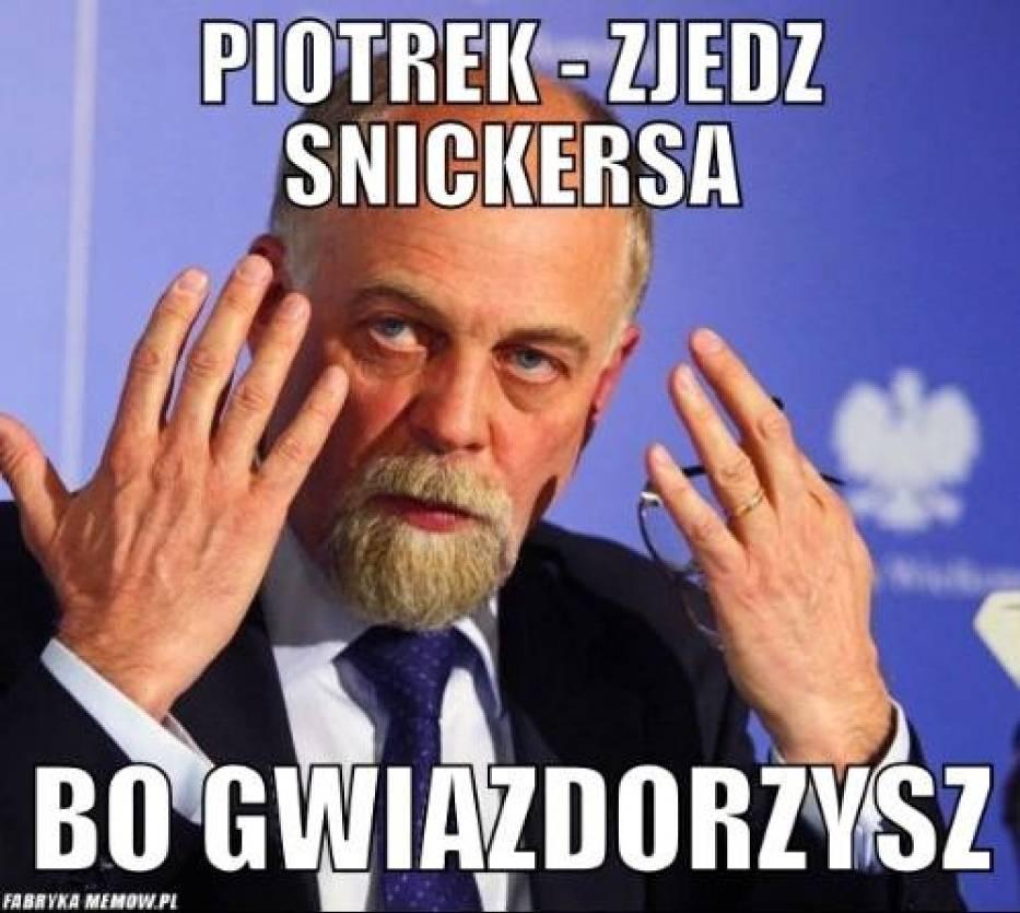 Snickersy dla wojewody Piotra Florka
