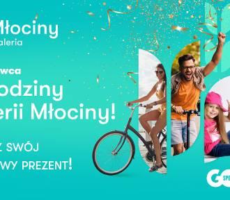 Galeria Młociny z okazji swoich pierwszych urodzin rozdaje prezenty!