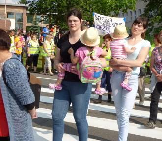 Łąg. Protest mieszkańców gminy Czersk