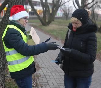 Odblaski na Mikołajki! Świąteczna akcja w Szczecinie [ZDJĘCIA, WIDEO]