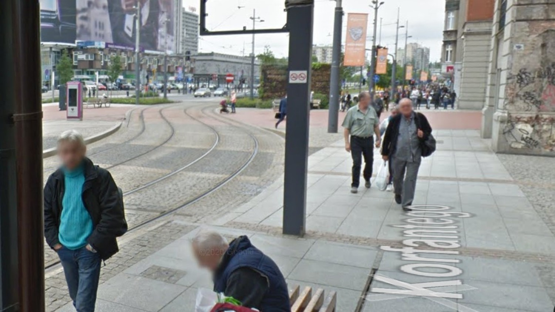 Katowiczanie na Google Street View