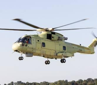 Tak wygląda malowanie polskiego śmigłowca AW101. Pierwszy lot naszego śmigłowca!