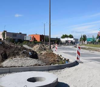 Zobaczcie najnowsze zdjęcia z przebudowy ulicy Górniczej w Inowrocławiu