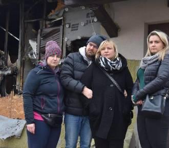 Pożar Luciny. Rodzina straciła dom i cały swój dobytek. Pomóżmy im stanąć na nogi!