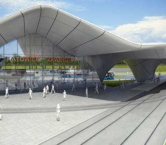 Budowa centrum przesiadkowego Zawodzie wchodzi w nową fazę. Będą utrudnienia w ruchu WIZUALIZACJE