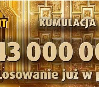 Eurojackpot wyniki 14.12.2018. Do wygrania są 43 mln zł