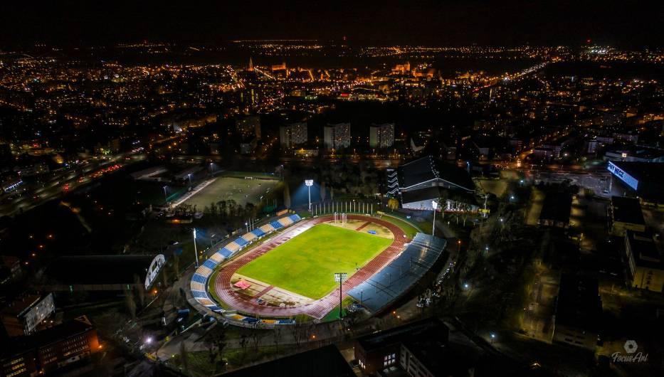 Długo mówiło się o zamontowaniu oświetlenia na Stadionie Miejskim przy ul