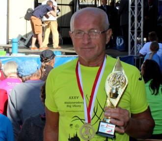 Józef Gręda znów na biegowym podium