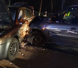 Wypadek na DK8 w Dusznikach Zdroju [ZDJĘCIA]