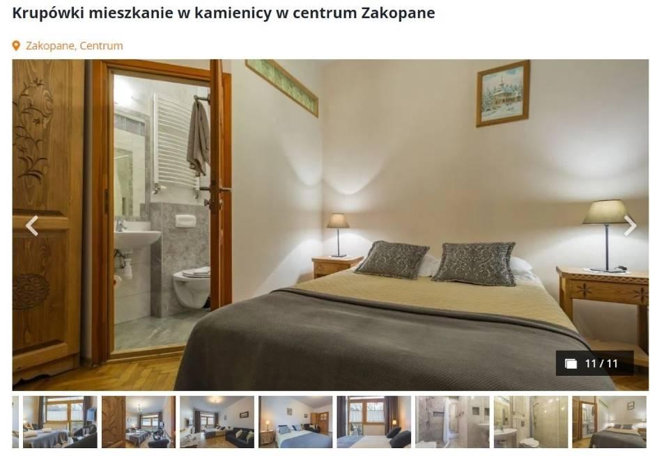 1 290 000 złWidokowe mieszkanie w kamienicy w centrum Zakopanego - przy ul