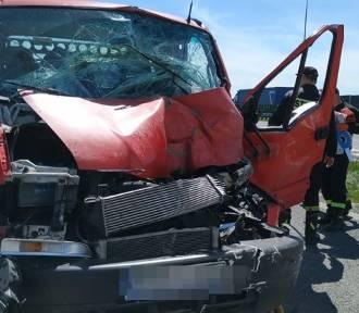 Kolejny wypadek na S8! Jest ranna osoba (ZDJĘCIA)
