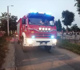 Strażacy znów interweniowali. Tym razem w Koźminie Wielkopolskim [ZDJĘCIA]