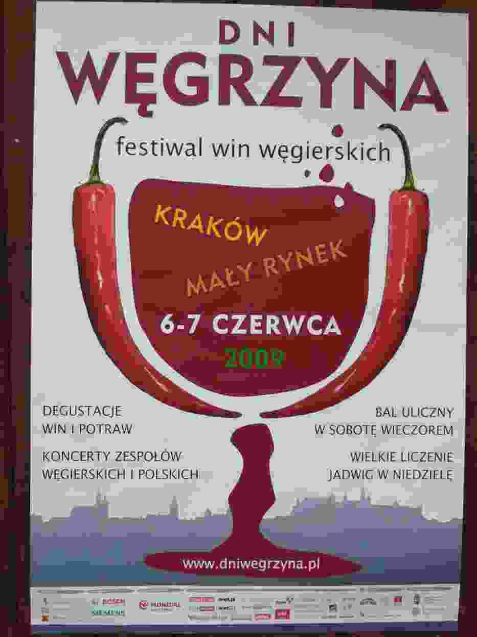 Plakat Dni Węgrzyna