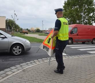 Starsza kobieta potrącona na przejściu dla pieszych przy Kościuszki