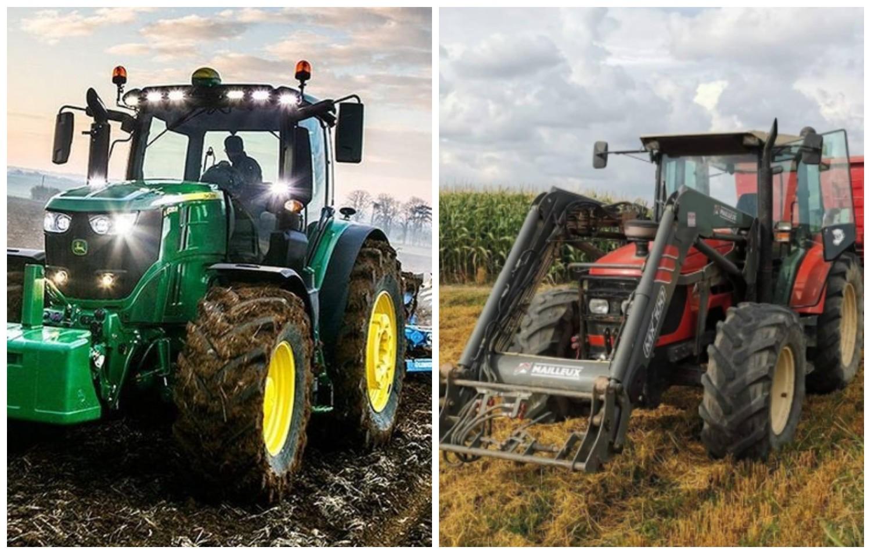 Przejdź do galerii i zobacz, jakie traktory można zobaczyć na wsiach w woj