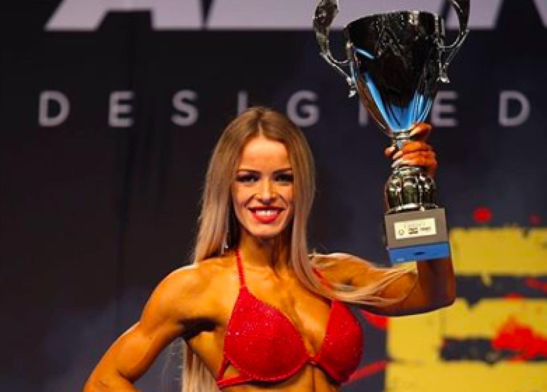 Anna Setlak z Rzeszowa wygrała Bikini Fitness Open w kategorii powyżej 172 cm wzrostu na ESP Sport & Zdrowie DEBIUTY 2019 w Gdańsku