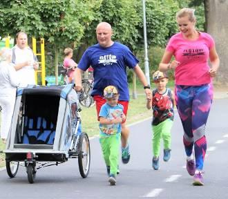 II Bieg Rodzinny -  bieg i nordic walking dorosłych [FOTO, WIDEO]