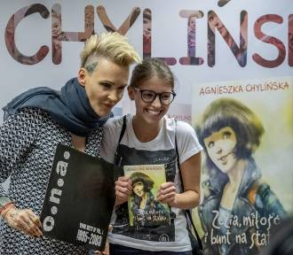 Agnieszka Chylińska spotkała się ze swoimi fanami w Poznaniu