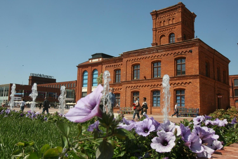 Manufaktura jest jednym z miejsc przyciągających do Łodzi turystów