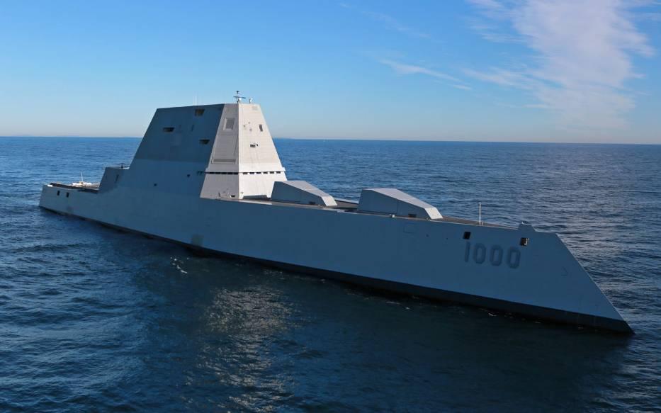 USS Zumwalt ma 184 metry długości i 24 metry szerokości