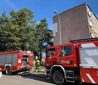 Władysławowo: pożar w mieszkaniu w bloku przy ul. 1000-lecia Państwa Polskiego