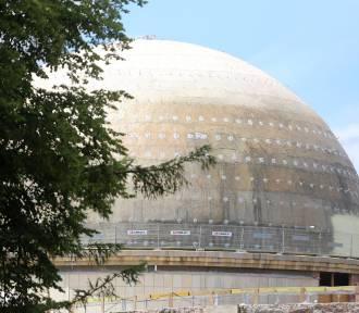 Tak teraz wygląda modernizacja Planetarium Śląskiego
