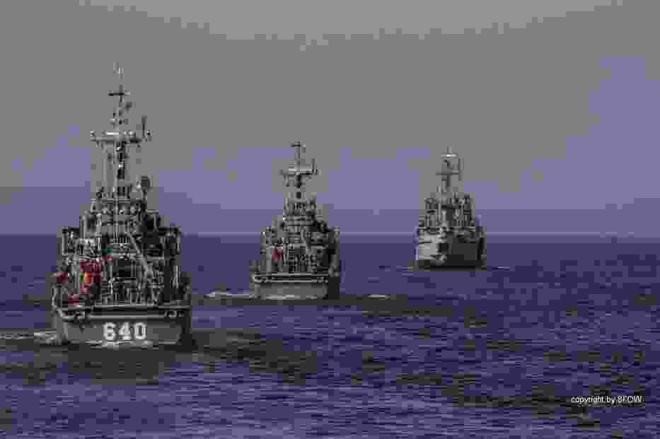 W manewrach okrętowej grupy zadaniowej