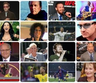 TOP 20 najlepiej zarabiających celebrytów na świecie
