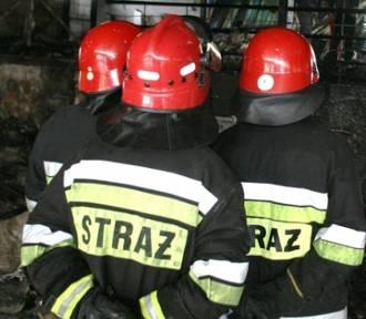 Brzesko. Pożar kuchni w jednej z kamienic, dwójka dzieci trafiła do szpitala