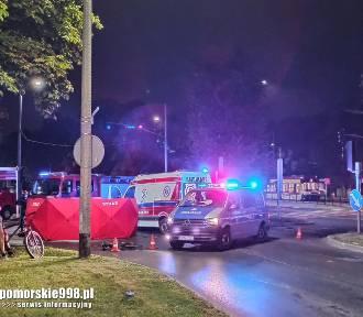 Śmiertelny wypadek na Trakcie Konnym. W środę, 16.09.2020 r. zginął rowerzysta