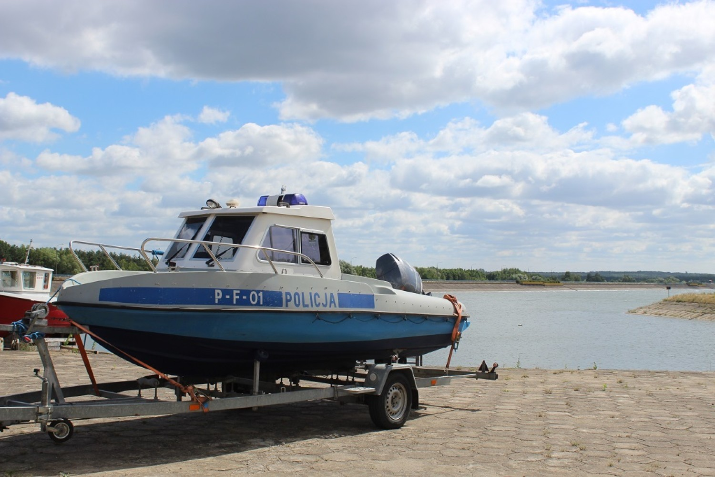 Policyjny  patrol  już na Jeziorsku