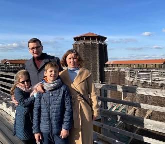 Premier Morawiecki z rodziną odpoczywał w Krakowie. Pochwalił się zdjęciami