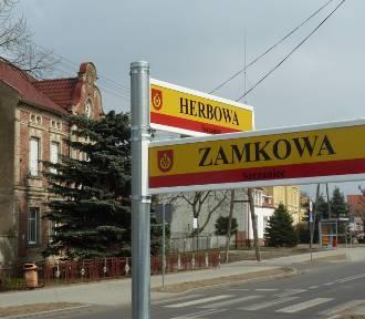 Ulice w Szczańcu już mają nazwy! W miejscowości pojawiają się pierwsze znaki