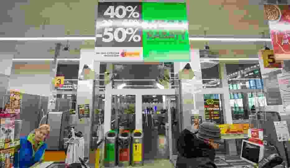 Zarobki w marketach wyższe