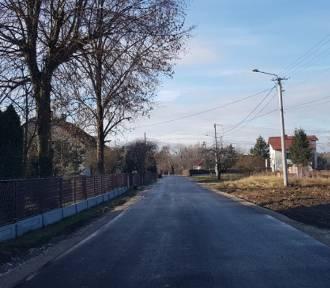 Dąbrowa Tarnowska. Zakończono remonty dróg gminnych [ZDJĘCIA]