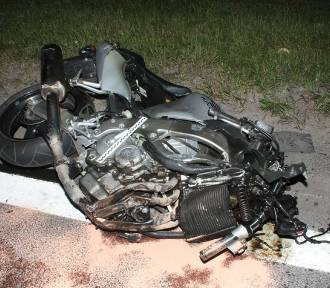 Motocyklista zginął na Murckowskiej