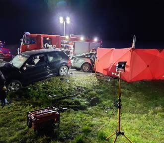 Tragiczny wypadek na DK91 w Jeleniu koło Gniewa