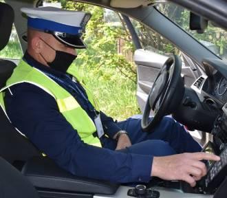 Policja w Kaliszu prowadziła kaskadowy pomiar prędkości. Posypały się mandaty. ZDJĘCIA