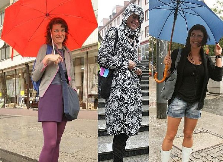 Deszczowa moda we Wrocławiu
