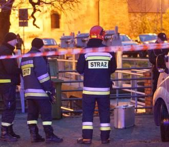 Zwłoki mężczyzny wyłowiono z Prosny w centrum Kalisza [FOTO]