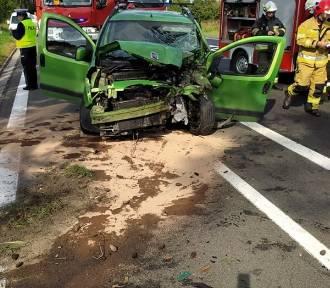 Tragiczny wypadek na drodze krajowej nr 24 w Daleszynku