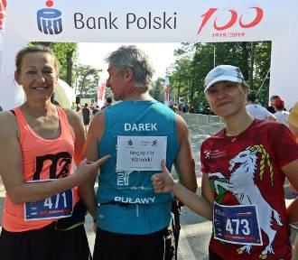Biegnąc w Półmaratonie Solidarności pomogli chorej Weronice