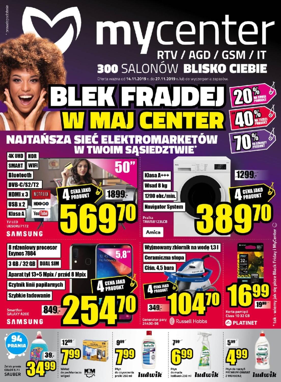 Black Friday 2019 My center GAZETKA
