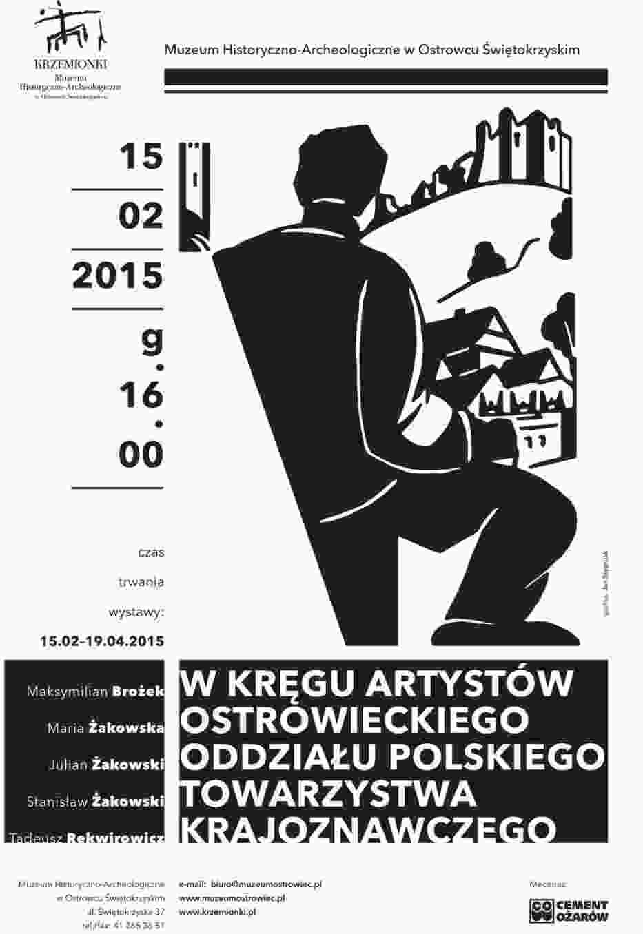 Plakat wystawy w Muzeum Historyczno - Archeologicznym