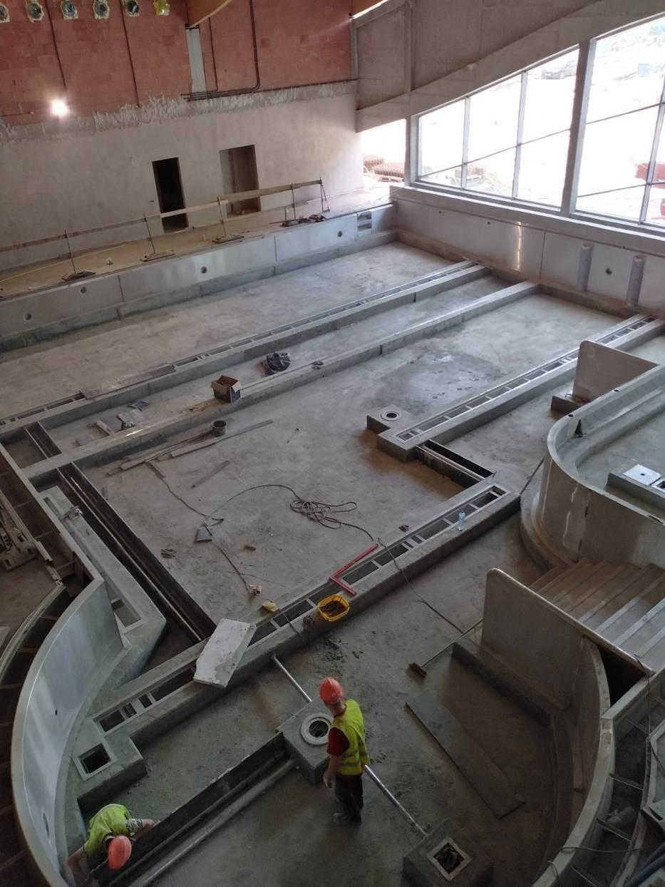 Budowa basenów w Szopienicach i Brynowie