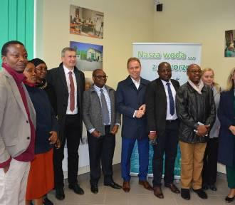 Delegacja z Tanzanii odwiedziła wodociągi w Jaworznie