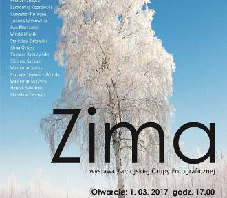"""""""ZIMA"""". Od 1 marca w ZDK wystawa prac Zamojskiej Grupy Fotograficznej - Grupa Twórcza."""
