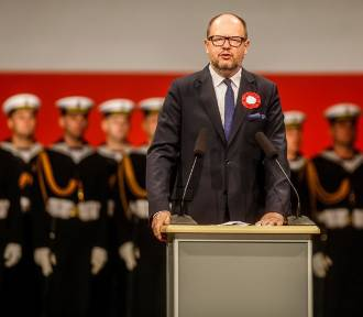P. Adamowicz wygwizdany na Westerplatte