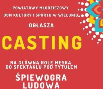 Już jutro w Domku Harcerza casting na główną rolę męską do spektaklu ŚPIEWOGRA LUDOWA