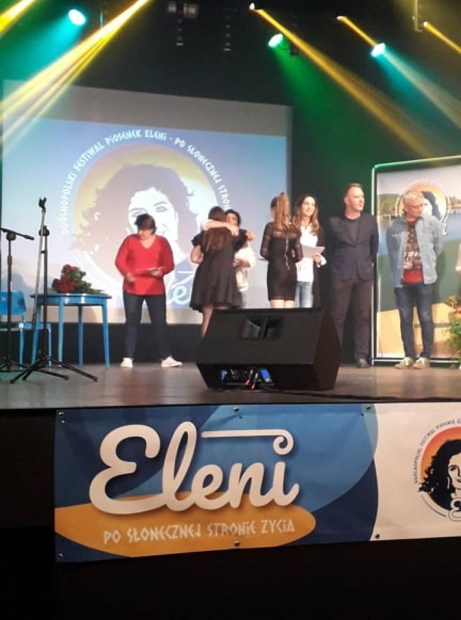 Natalia Medyńska zdobyła wyróżnienie na Ogólnopolskim Festiwalu Piosenek Eleni w Bielawie